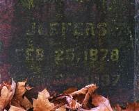 cemetery, Olympia, algae, tombstone