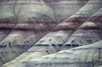 John Day Fossil Beds National Monument, Painted Hills, Oregon, abstract