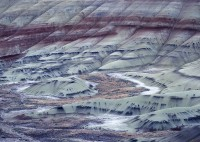 John Day Fossil Beds, Painted Hills Unit, Oregon, clay soils