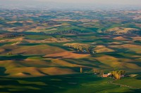 Palouse, farmland, eastern Washington, farmhouses, sunrise, sunset, Washington