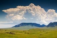 Square Butte, Montana, thunderhead