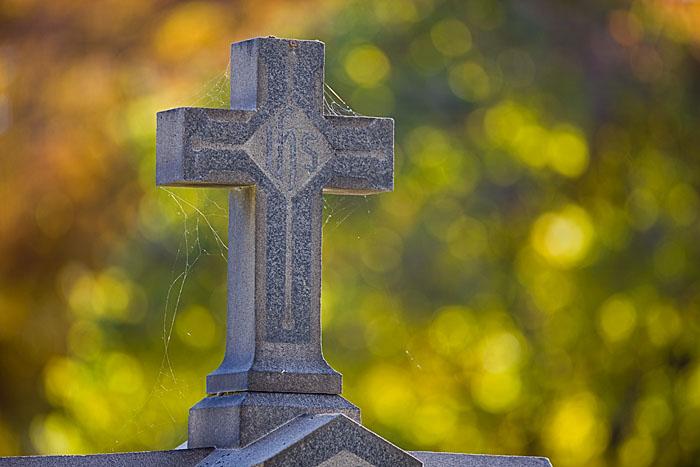 Blue Mountain, cemetery, Walla Walla, web, cross