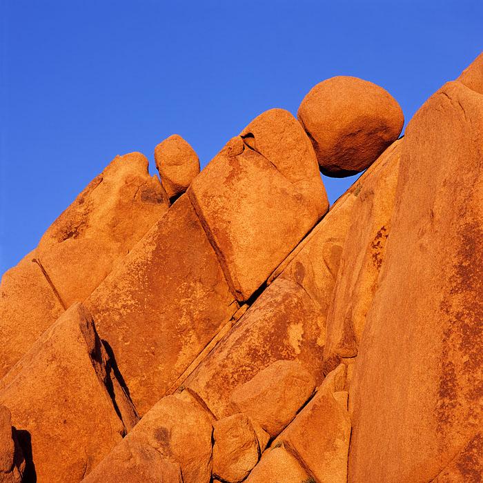 Joshua Tree, national park, granite, boulders, Hasselblad, blue, Jumbo Rocks
