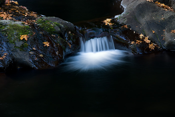 Sweet Creek, Oregon, creek, waterfall, long exposure